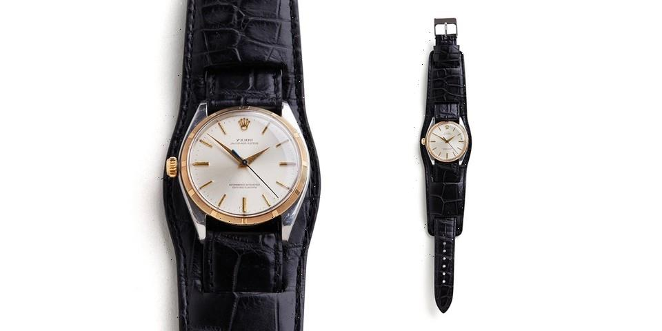 NEIGHBORHOOD Pairs Its PORTER Bund Strap With Vintage OMEGA and Rolex Watches
