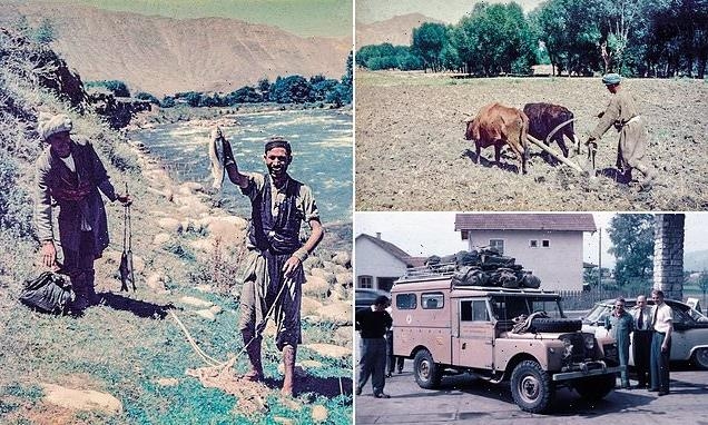 New book features eye-opening images of Afghanistan in peacetime