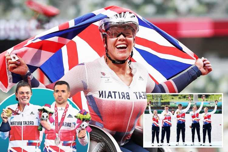 Paralympics star Hannah Cockroft wins sixth title as Team GB take 16 medals in one day