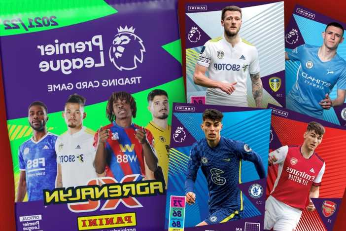 Pick up your FREE Panini Premier League 21/22 Adrenalyn XL Trading Cards in every copy of The Sun