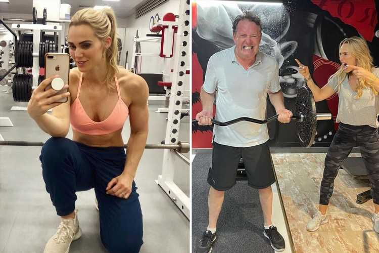 Piers Morgan's trainer puts stars through their paces in epic charity workout – and you can join in too