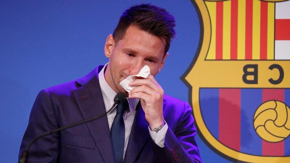 Playboy model places huge bid for Messi's farewell handkerchief
