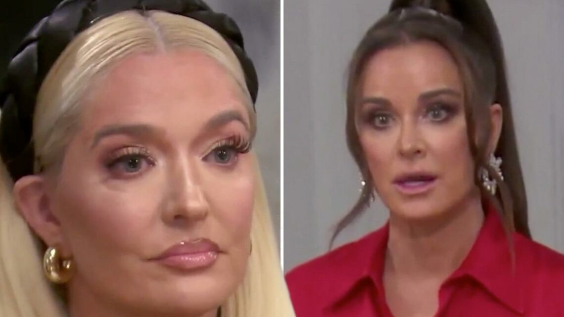 RHOBH cast confronts Erika Jayne over lawsuit claims she 'stole $20M from lawyer ex Tom Girardi's clients'