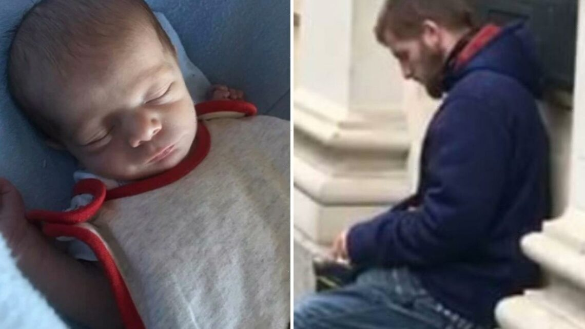 Remorseless dad GUILTY of murdering one-month-old baby boy by shaking him so hard he suffered 74 rib fractures