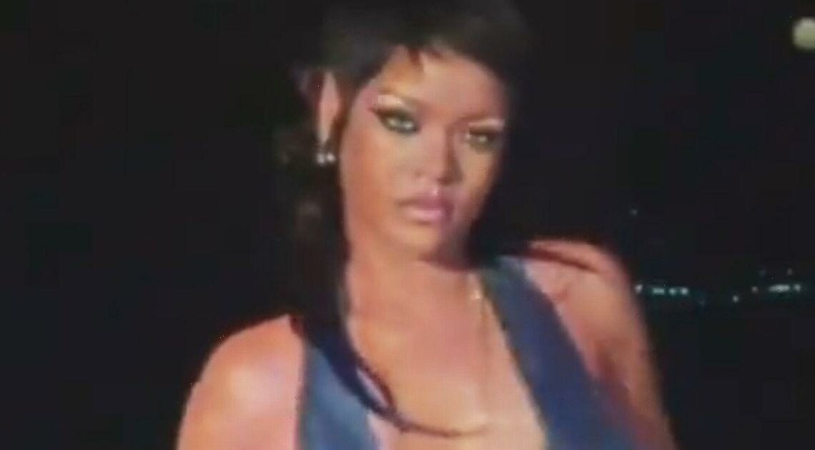 Rihanna shows off racy lingerie line in teaser for third Savage X Fenty show