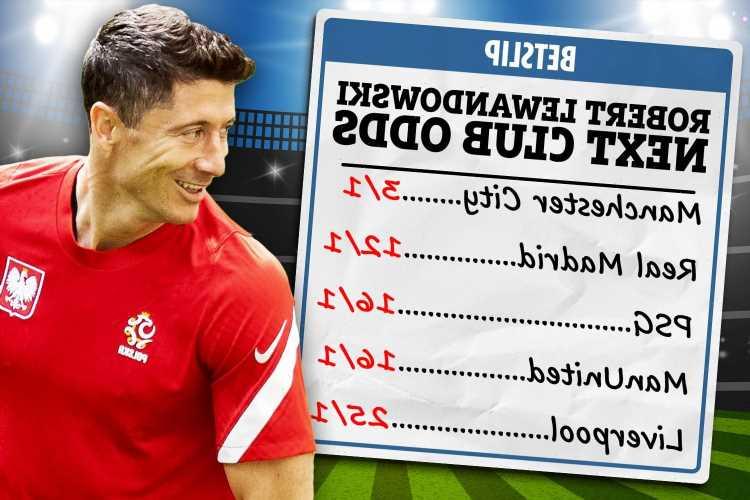 Robert Lewandowski next club odds: Man City favourites to land Bayern star ahead of Man Utd, Liverpool and Chelsea