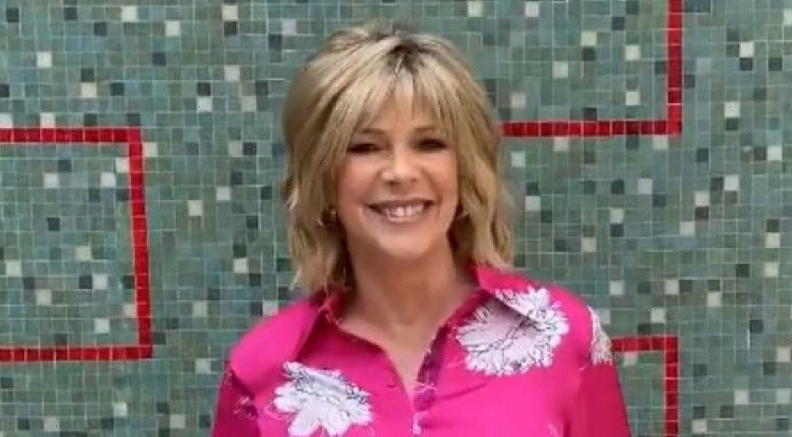 Ruth Langsford gives Holly Willoughby a run for her money as she ups her This Morning style