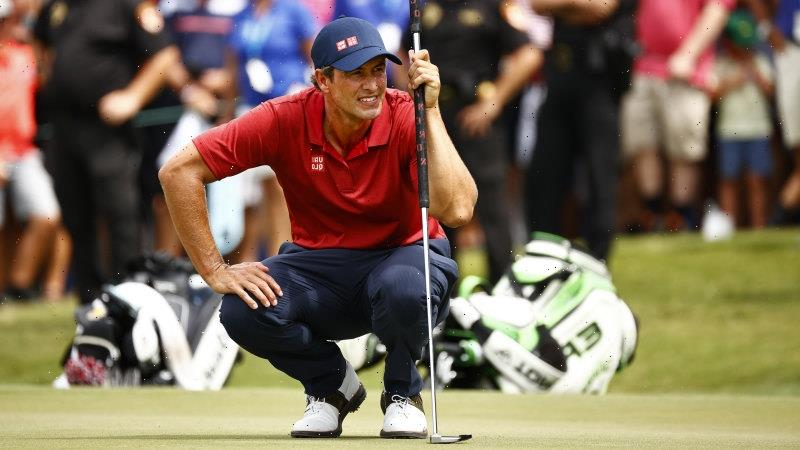 Scott falls just short of PGA Tour victory after record-tying six-man play-off