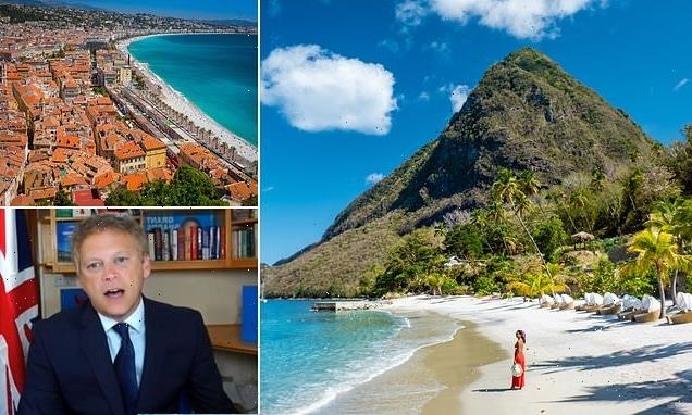 St Lucia 'could be added to the travel red list'