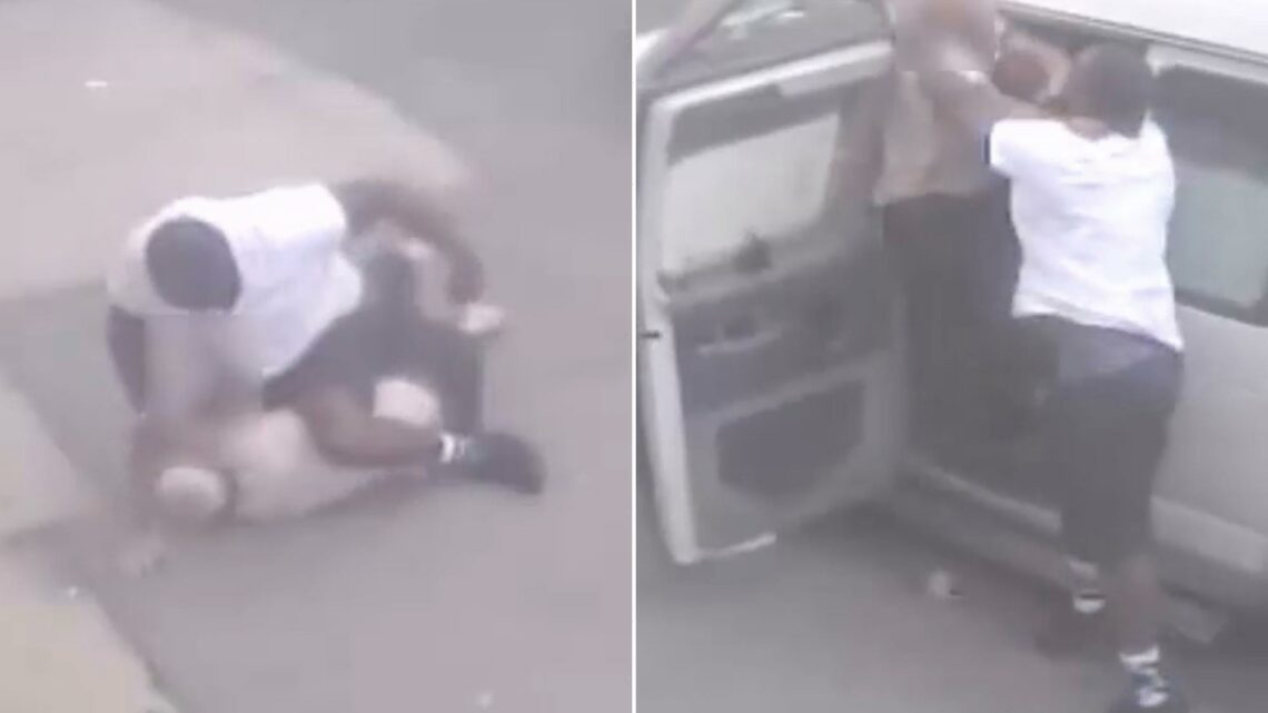 Suspect chokes, punches 64-year-old in NYC before fleeing in Mercedes