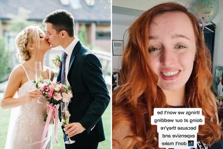 Thrifty bride reveals 'expensive' wedding traditions she'll be skipping as they 'don't make sense', like save the dates