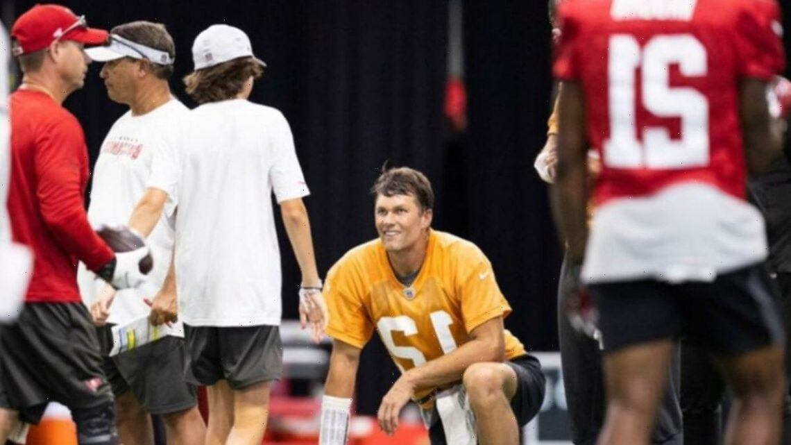 Tom Brady's Son Gets Ball Boy Gig At Buccaneers Practice