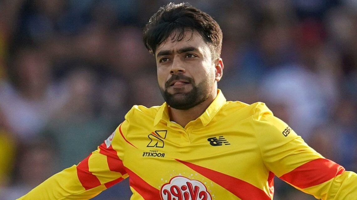 Trent Rockets rallying around Rashid Khan as he deals with situation in Afghanistan, says Lewis Gregory