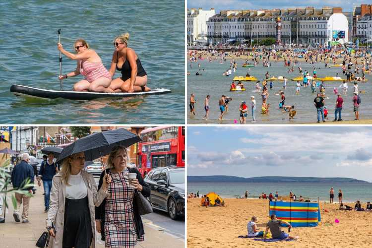 UK weather – Britain to see 27C September heatwave after torrential downpours & thunderstorms dampen spirits