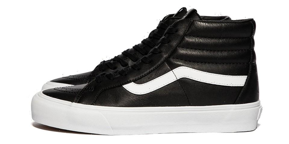 """Vault by Vans Upgrades the Sk8-Hi Reissue with Ultra-Premium """"Dream Leather"""""""