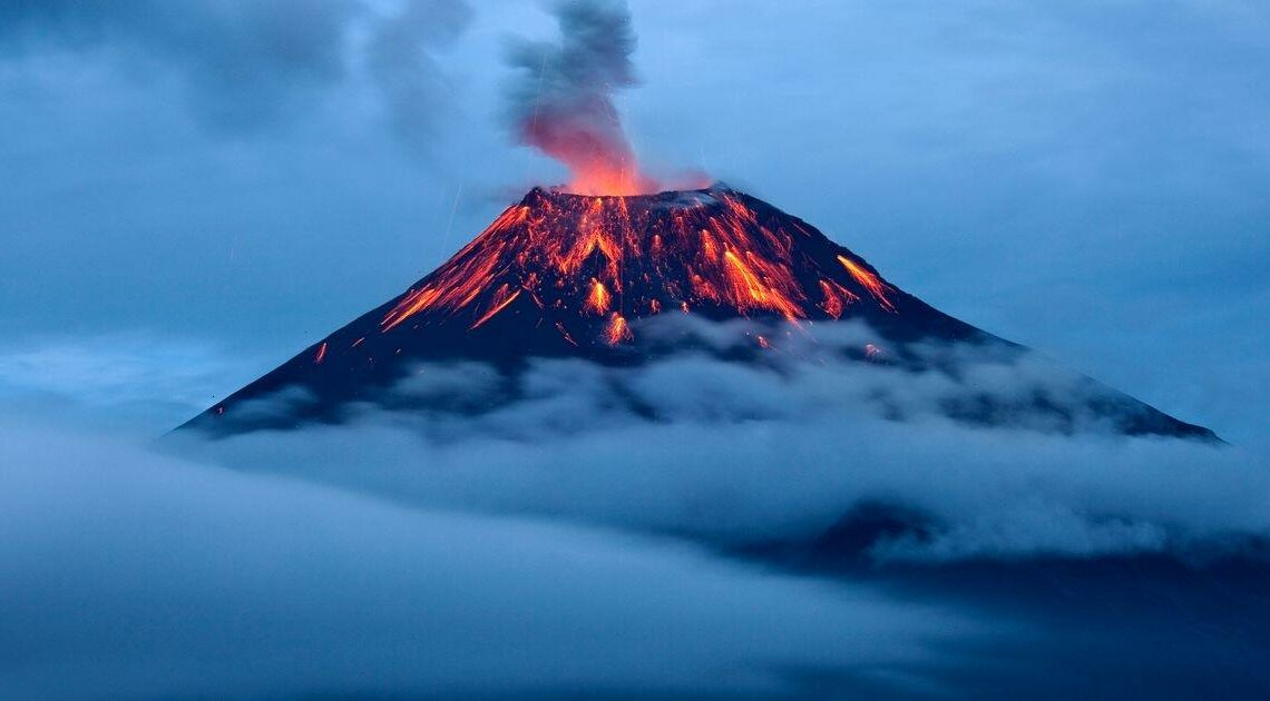 Wacky doomsday preacher warns volcanoes could bring about the end of the world