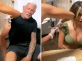 Wayne Lineker and Chloe Ferry get vitamin injections before carrying on the party after boozy night out in Ibiza
