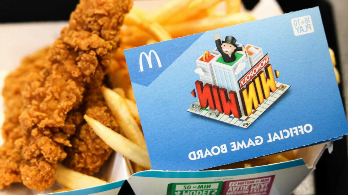 What are the rare McDonald's Monopoly pieces 2021?