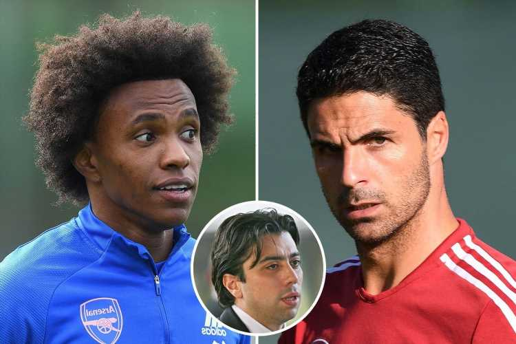Willian's agent tears into Arsenal structure and slams club's 'disastrous' transfers after Corinthians move
