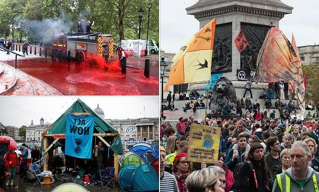 XR's last London demo left 120 TONS of rubbish, MP claims
