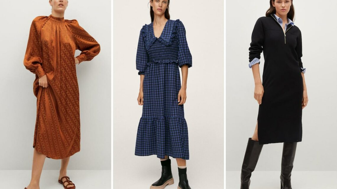 10 best dresses from Mango ready for autumn