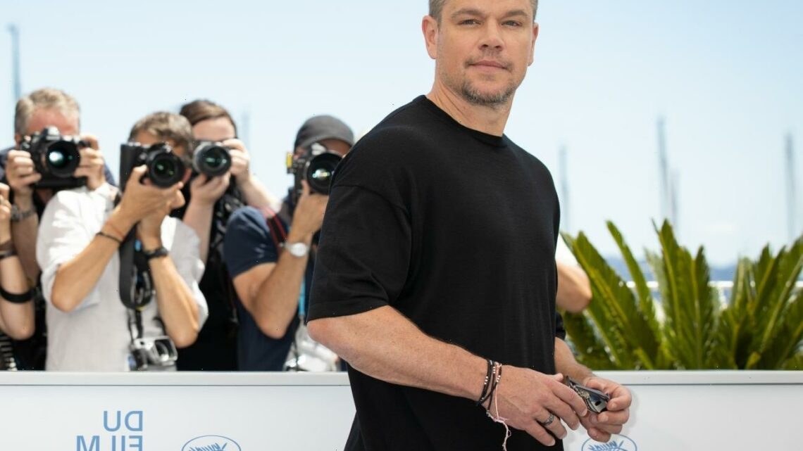"""Matt Damon has a secret Instagram account & 76 followers"" links"
