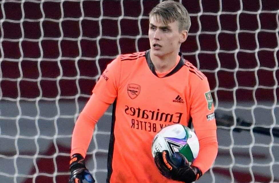 Arsenal send keeper Alex Runarsson out on loan transfer to OH Leuven after landing £30m Aaron Ramsdale