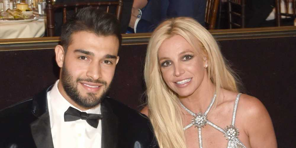 Britney Spears's Boyfriend Sam Asghari Was Spotted Ring Shopping at Cartier