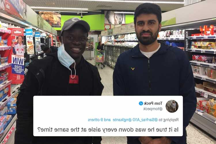 Chelsea star N'Golo Kante shows humble side as he does weekly Asda shop as fans joke he 'did the shopping for two'