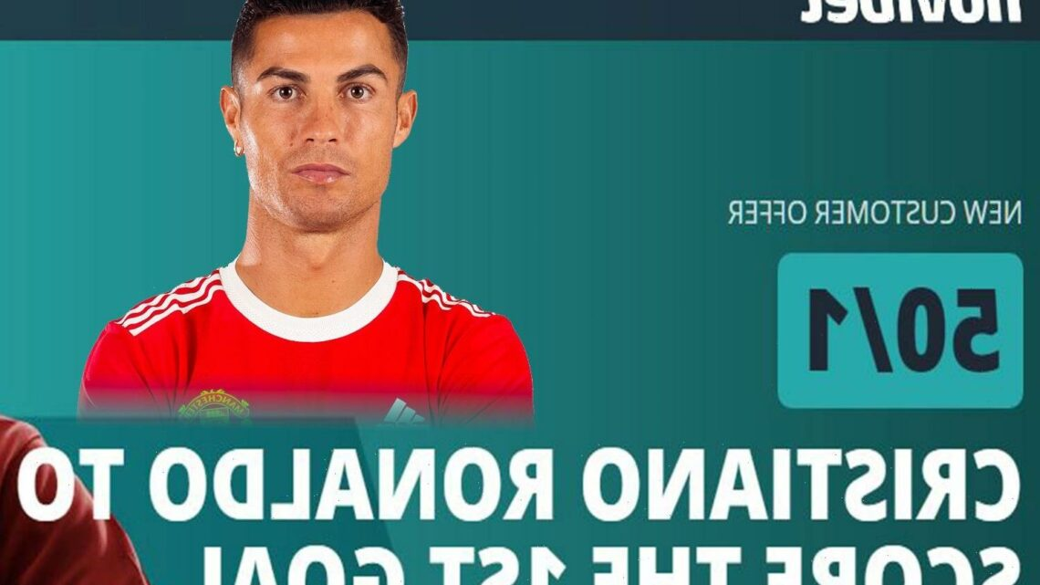 Cristiano Ronaldo at mammoth 50/1 to score first in Man Utd vs Newcastle with Novibet price boost special