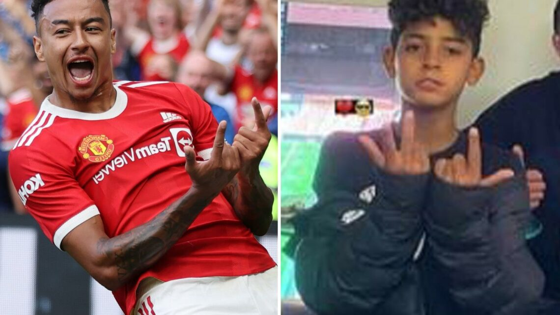 Cristiano Ronaldo's son performs Jesse Lingard's 'J-Lingz' celebration after Man Utd star's tribute to his dad