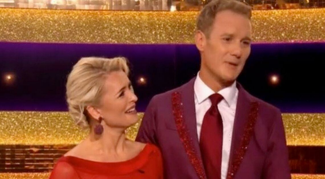 Dan Walker pays emotional tribute to Louise Minchin with first Strictly dance