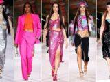 Dua Lipa, Emily Ratajkowski and Gigi Hadid storm the Versace catwalk