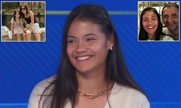 Emma Raducanu praises her 'tough' parents for helping her win US Open