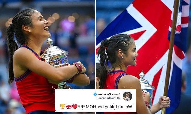 Emma Raducanu tweets for first time since fairytale New York win