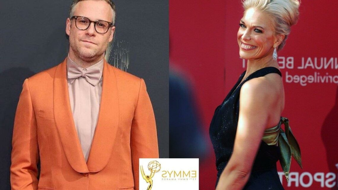 Emmys 2021: Hannah Waddingham Reacts to Seth Rogen Mispronouncing Her Name