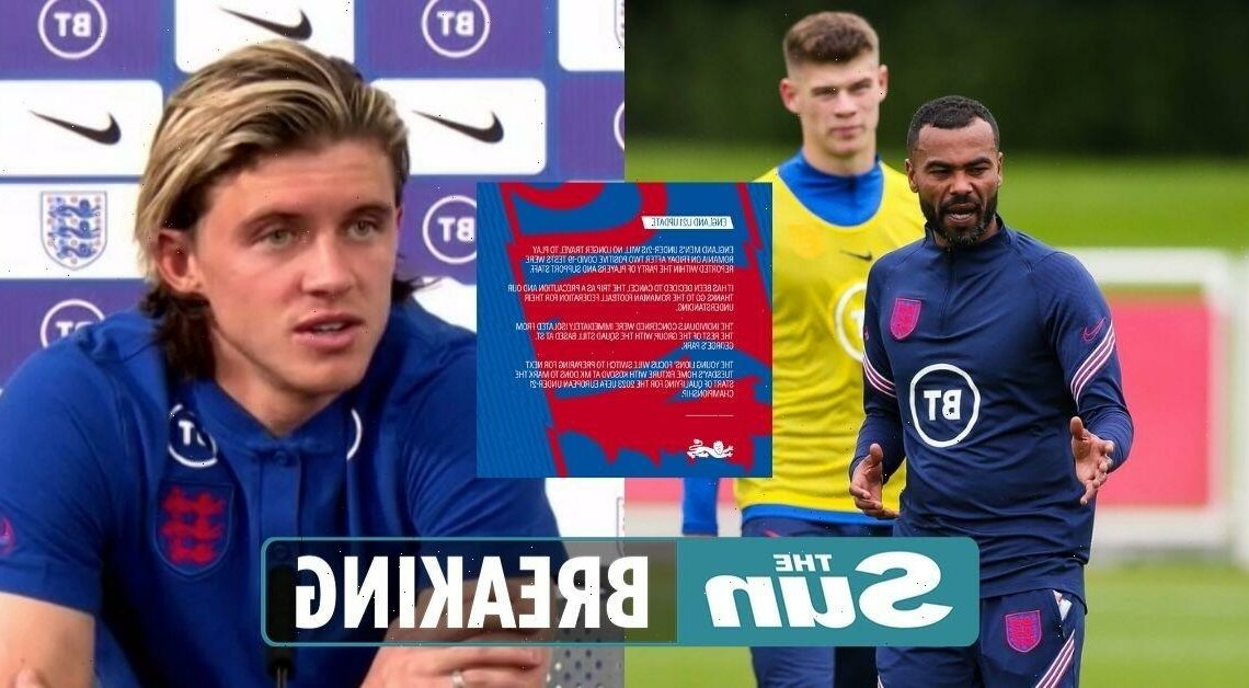 England U21s clash against Romania CANCELLED after two positive Covid tests in Young Lions camp