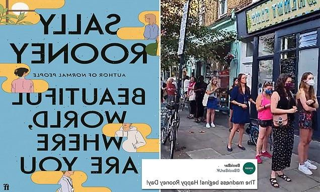 Fans queue to get Sally Rooney novel  Beautiful World, Where Are You?