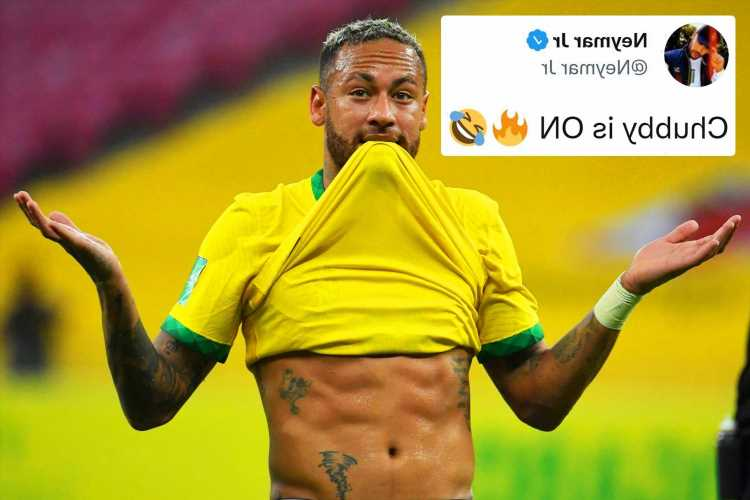 Fuming Neymar demands respect from Brazil fans and hits back at fat-shamers by showing off ripped abs
