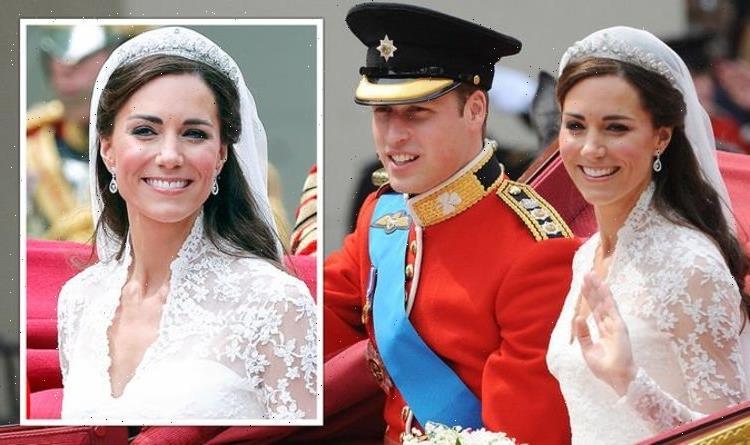 How Kate Middleton made royal history with wedding tiara choice