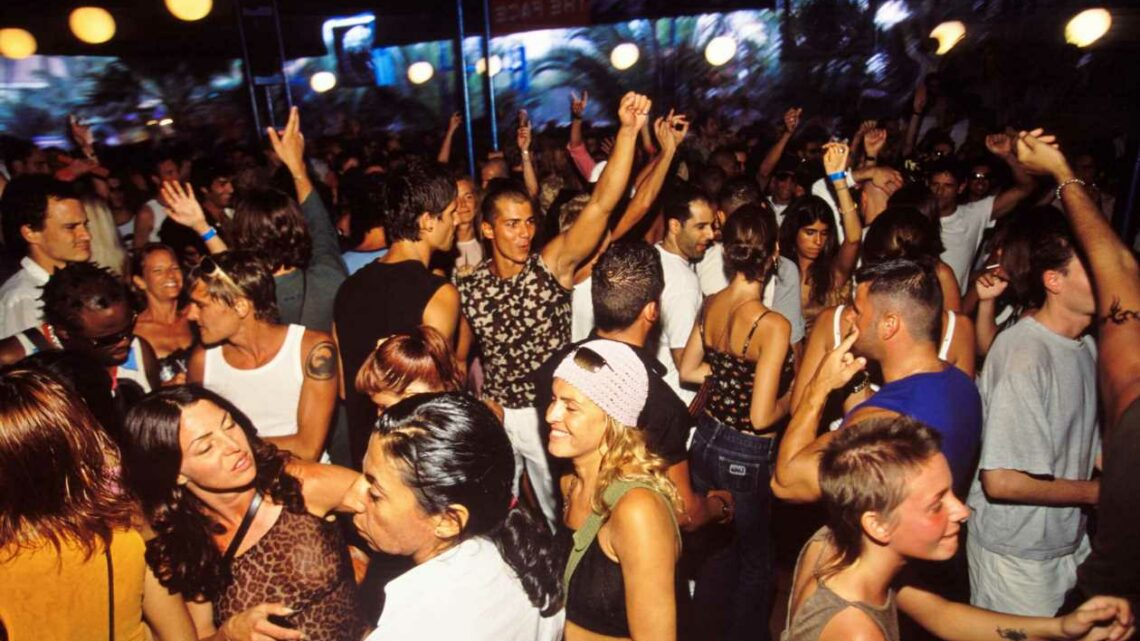 Ibiza in the early noughties voted the 'best club scene' according to Brits