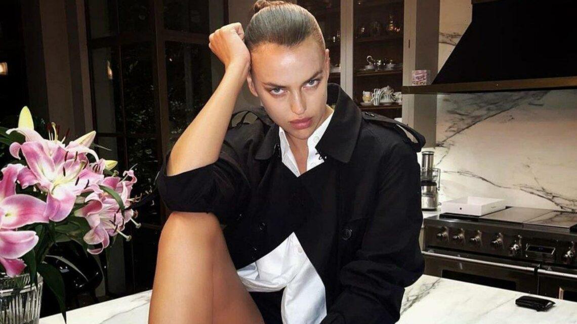 Irina Shayk Rocks Cleavage-Baring Corset at New York Fashion Week Bulgari Party