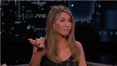Jennifer Aniston Reveals What Jimmy Kimmel Got Her 'Addicted' to That's Ruining Her Life (Video)