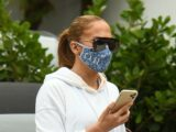 Jennifer Lopez Wore a Controversial Pair of $90 Sweatpants That You Can Find for $20 on Amazon