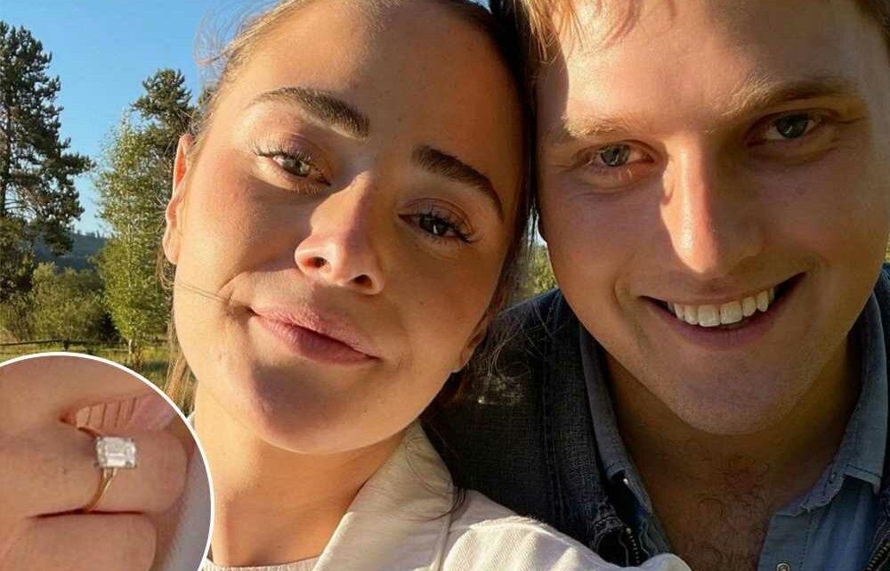 Joe Bidens granddaughter Naomi engaged to boyfriend Peter Neal