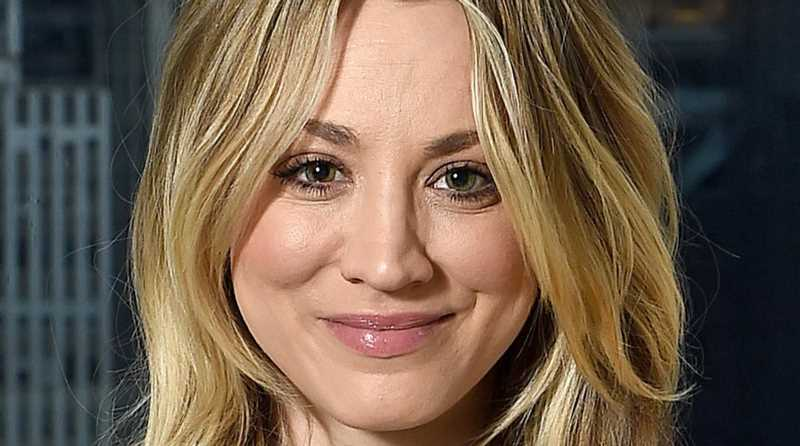 Kaley Cuoco's Reaction To Her Ex-Husband's Photo Is Turning Heads