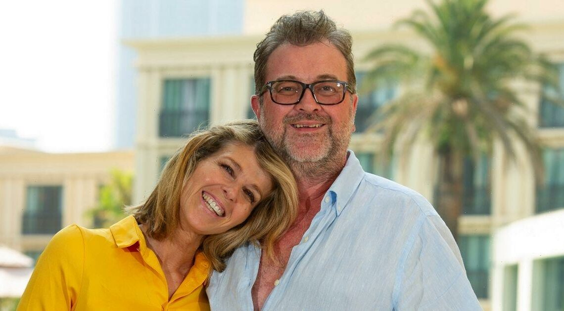 Kate Garraway had an emotional video call with Derek after NTA documentary win