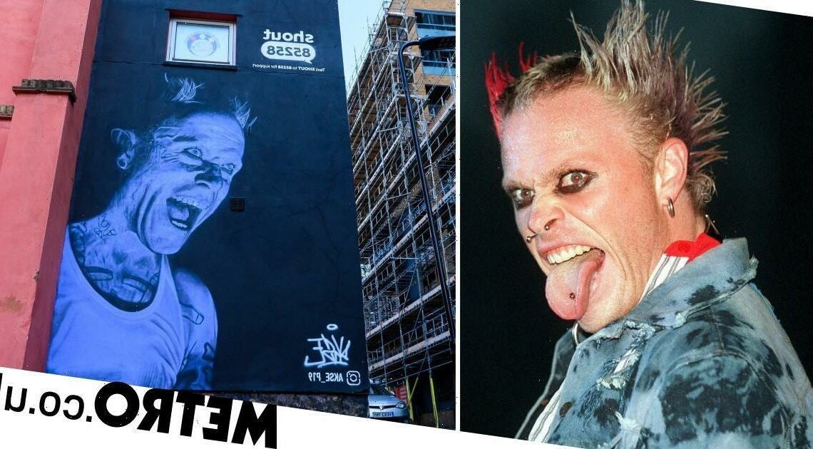 Keith Flint mural unveiled to mark World Suicide Prevention Day