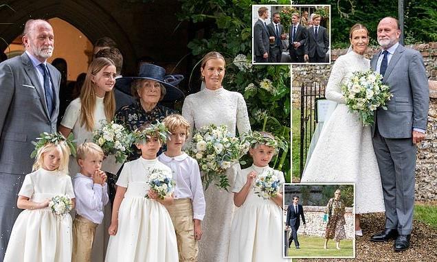 Lady India Hicks, 54, marries her partner of 26 years David Flint Wood