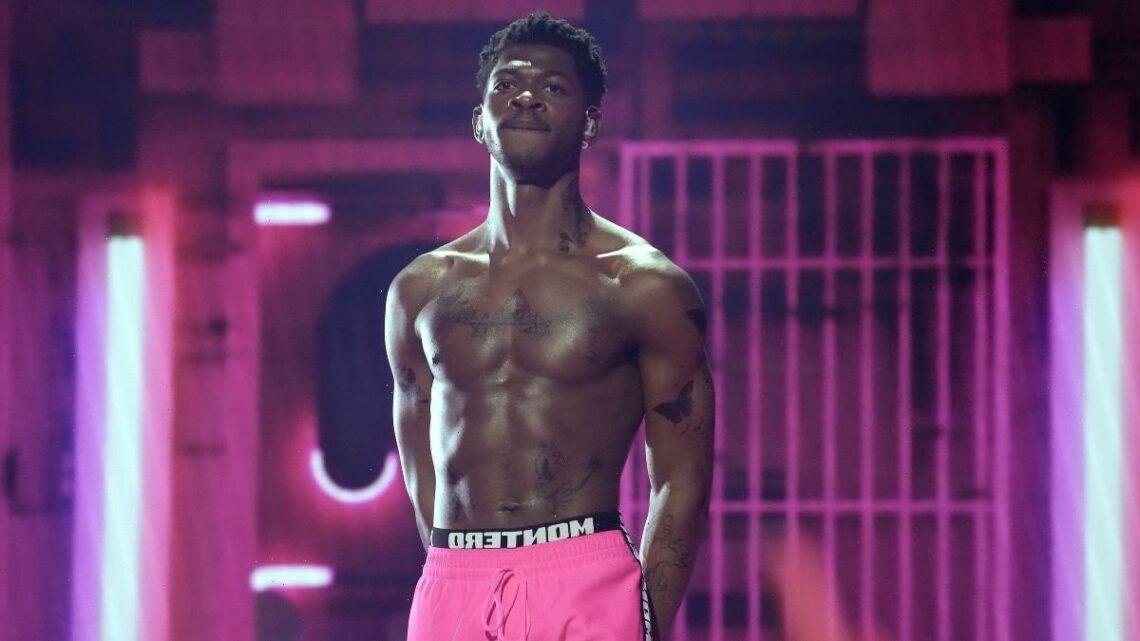 Lil Nas X's VMAs Performance Draws SpongeBob Comparisons – and Some NSFW Feelings